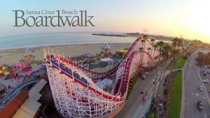 santa cruz beach boardwalk vacation